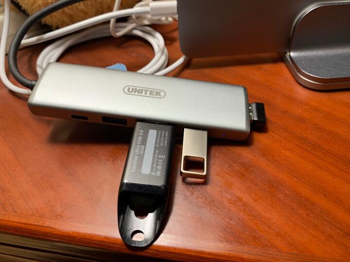 优越者(UNITEK)USB2.0 A母对MicroUSB公转接头 手机平板数据OTG转换头镀金头黑色 Y-A015CBK 晒单图