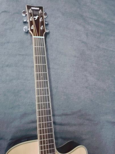 雅马哈吉他FG830民谣单板FG850木吉它电箱指弹弹唱yamaha FG830落日渐变单板41寸+全套大礼包+在线选琴 晒单图