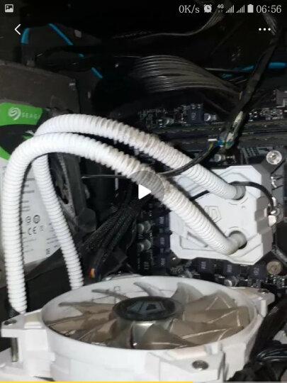 Tt(Thermaltake)额定600W SMART DPS G 600W 电源(80Plus铜牌/半模组/双滚珠温控风扇/主动PFC) 晒单图