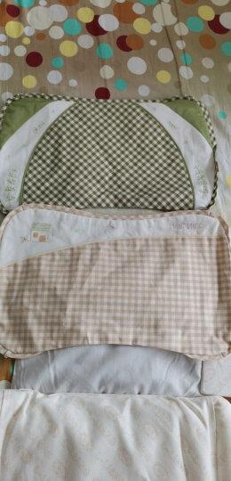 良良(liangliang) 婴儿枕头定型枕防偏头新生儿水洗透气儿童枕0-1-3-5岁用品幼儿礼盒 爆款枕(双枕套)绿色【0-5岁】 晒单图
