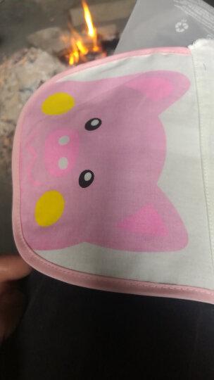象宝宝 elepbaby 婴儿方巾 全棉水洗纱布口水巾洗澡巾6层加厚30X30CM 6条装 晒单图