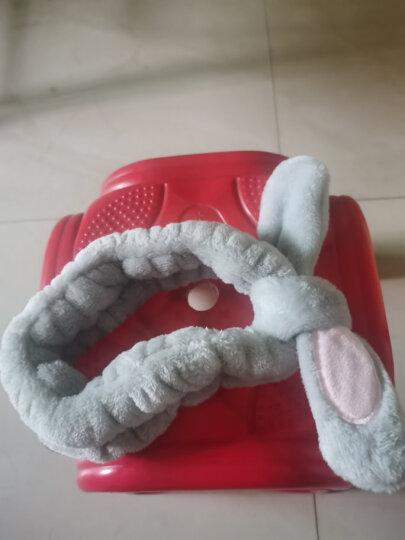 班哲尼 猫耳朵可爱造型束发带 洗脸化妆包头巾 粉色 晒单图