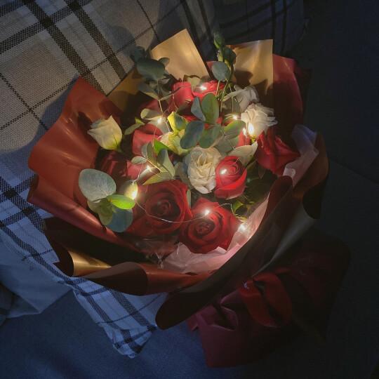 相思递鲜花速递 99朵红玫瑰花束香槟玫瑰情人节礼物生日礼物求婚告白同城配送情人节鲜花全国花店 天长地久-999朵红玫瑰花束 晒单图