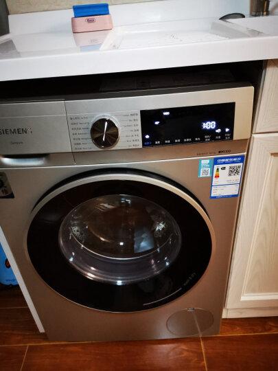 西门子(SIEMENS) 10公斤变频滚筒洗衣机 快洗15' 羽绒服洗涤 XQG100-WM12P2692W 晒单图