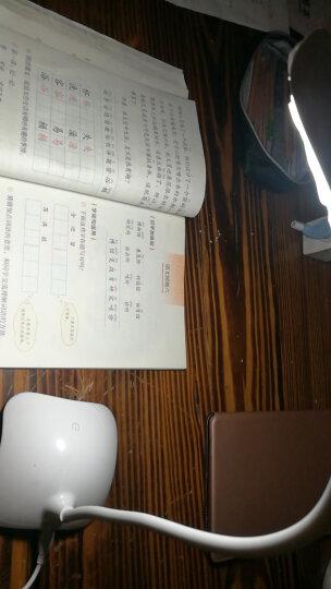 久量(DP)led儿童护眼可充电台灯学生学习卧室床头灯 底座(暖光)创意小夜灯1036 晒单图