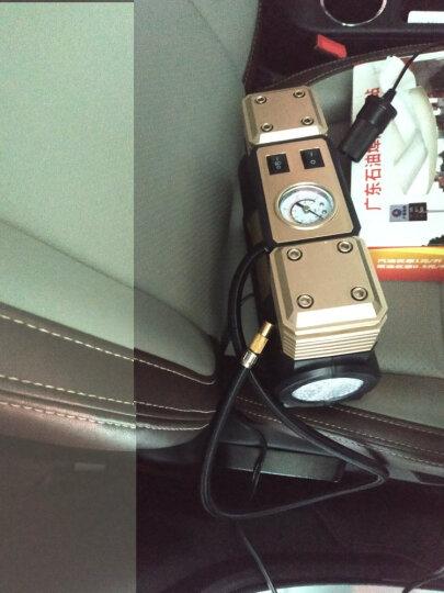 尤利特车载充气泵双缸汽车打气泵 电动12V便携式车用轮胎打气筒 3500G工具箱套装 晒单图