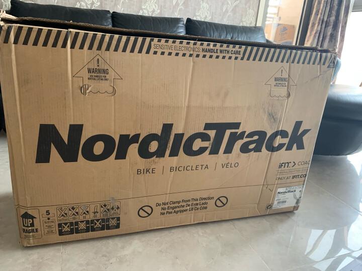 美国爱康ICON健身车家用磁控静音立式动感单车诺迪克75017/GX4.4Pro健身器材运动器材健身 厂家自送(送货入户 包安装) 晒单图