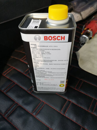 博世(Bosch)德国进口DOT4刹车油|制动液1000ml装适用于 雪佛兰赛欧|爱唯欧|景程|科鲁兹|迈锐宝|创酷 晒单图