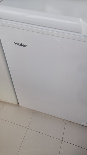 海尔(Haier) 202升家用冷藏冷冻转换冰柜 节能单温冷柜小冰箱 BC/BD-202HT 晒单图