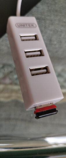 优越者(UNITEK)usb延长线 公对母数据线转接线 AM/AF 电脑USB/U盘鼠标键盘耳机加长线0.3米黑色Y-C427 晒单图