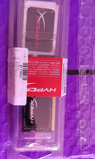 金士顿(Kingston) DDR3 1600 4GB 笔记本内存 骇客神条 Impact系列 低电压版 晒单图