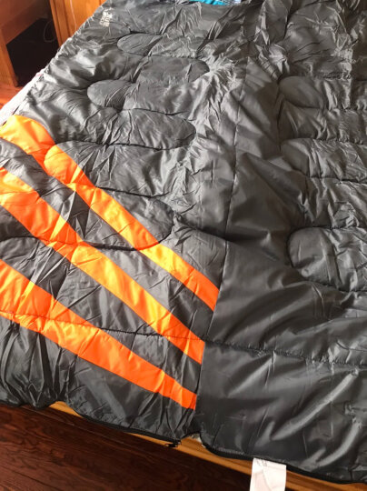 北山狼(BSWOLF)隔脏睡袋成人户外冬季双人 橙色2.3KG 晒单图