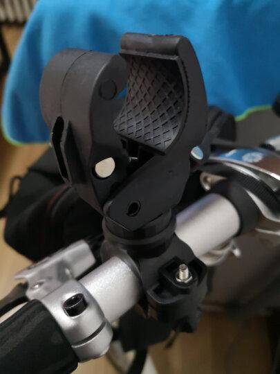 单骑 DANQI 自行车灯架灯座强光手电筒灯夹支架u型山地车骑行装备单车配件 晒单图