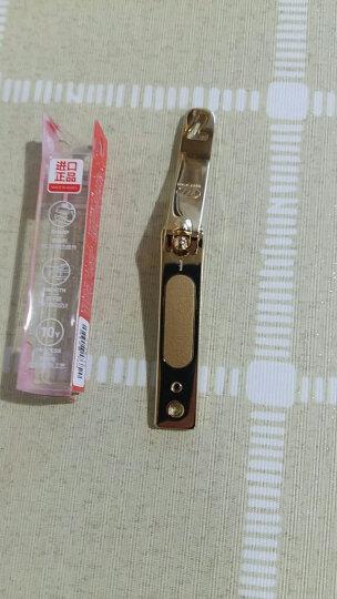 777(THREE SEVEN)指甲刀单个便携指甲剪成人家用指甲钳中号带锉修甲工具PN-671G金色(进口) 晒单图