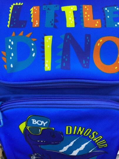 爱迪生(Edison)书包 超轻减负透气中学生背包女休闲运动防水大容量双肩包 L796 粉红色 晒单图