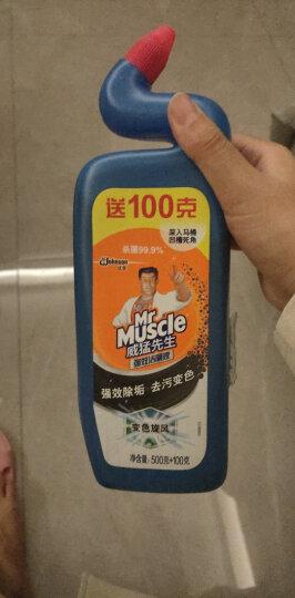 威猛先生 厨房重油污净 油烟机清洗剂 清爽柠檬 500g+强效洁厕灵 500g 强力去油污厨房清洁剂 油烟净 晒单图