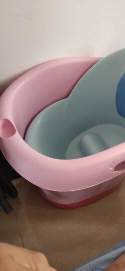 世纪宝贝(babyhood)儿童沐浴桶 宝宝洗澡桶 婴儿游泳桶中桶 新生儿游泳桶泡澡桶 果粉色 BH-310 晒单图