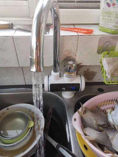 海尔施特劳斯(Haier Strauss) 电热水龙头 快速热加热热得快小厨宝 即热式电热水器M2S 10A接口套装 下进水 免费上门安装 晒单图