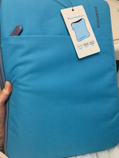 奥维尼 内胆包 联想威6 Pro 14英寸轻薄窄边框笔记本电脑包 华硕Y4200顽石防泼水防震 BM-141 蓝色 晒单图