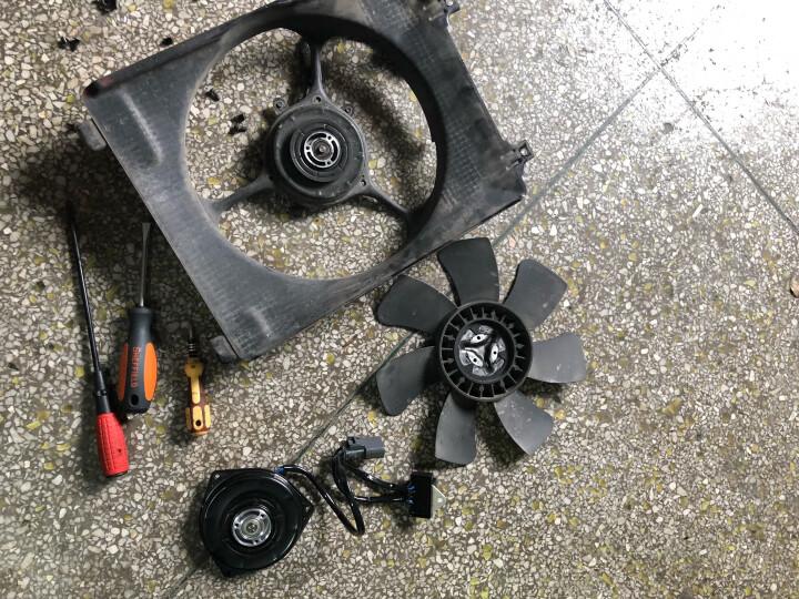 电装(DENSO)风扇电机 汽车风扇电机马达 飞度思迪03-08款1.3L 右/副驾驶 具体请联系客服 厂家直发 晒单图