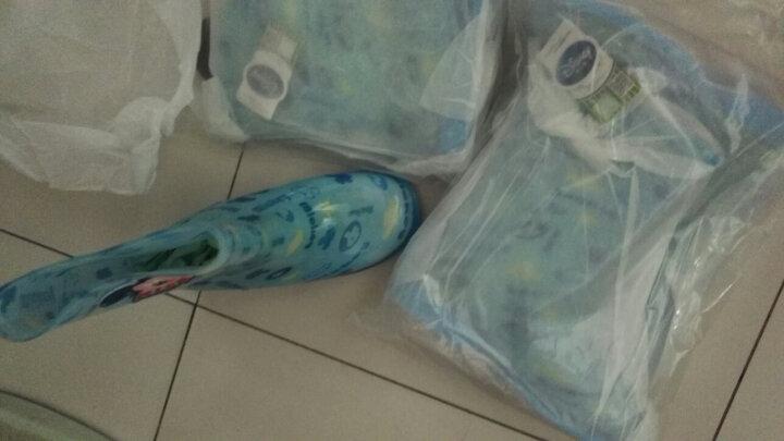 迪士尼米奇雨鞋男童女童小孩雨靴宝宝水鞋水晶卡通儿童雨鞋 MP15487米奇宝蓝 28码/内长18.2cm 晒单图