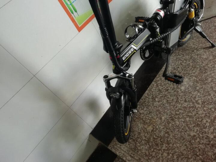 新国标3C认证英格威电动车电动自行车代驾折叠电动车14寸电瓶车迷你成人GPS汽车进口锂电池顺丰&德邦 5系7减震汽车电池助力约100公里Edrive增程 晒单图