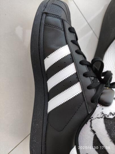 阿迪达斯官网adidas 三叶草SUPERSTAR FOUNDATION男女鞋经典运动鞋B27140 如图 41 晒单图