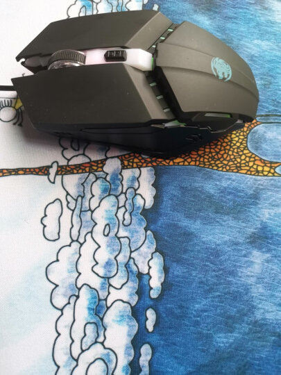 新盟鼠标垫个性创意卡通超可爱小号防滑动漫lol加厚女生游戏笔记本电脑大办公桌垫电竞粗面 图案随机发(290*250mm) 精密锁边 晒单图
