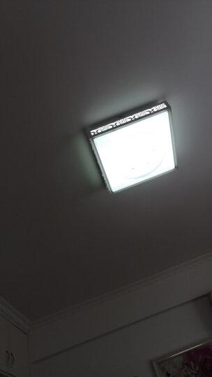 博勒宁LED灯板改造板吸顶灯改装灯板灯条长方形节能H灯管替换全套 24W-52cm长/8W*3条-暖光 晒单图