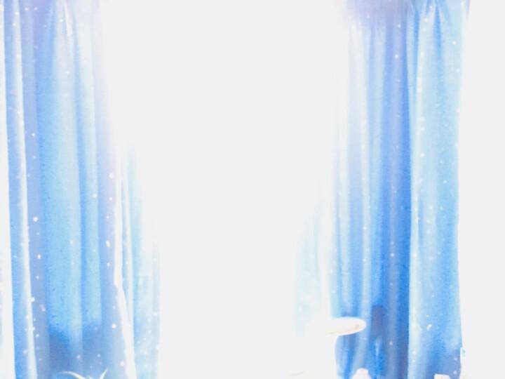 梦达莱 窗帘成品免打孔安装简易伸缩杆全遮光遮阳客厅卧室阳台办公室卫生间学生宿舍飘窗布帘 满天星-粉色 【杆长1.6到2.1米】帘宽3.0X高1.8米双开 晒单图