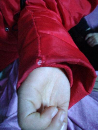 水无香淘2020儿童羽绒服新品女童羽绒服中长款加厚中大童保暖外套反季8865 黑色 140码(正码-建议身高130-140cm穿) 晒单图