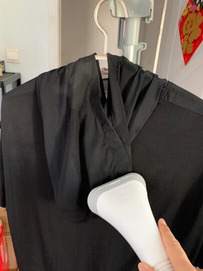 美的(Midea)挂烫机单杆蒸汽挂烫机 家用手持电熨斗YGJ15B3(配毛刷、烫衣助手) 晒单图