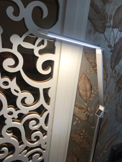胜时(SAMESIEG) 简约现代led护眼落地灯客厅卧室床头沙发钢琴立式台灯遥控书房阅读 升级版  典雅黑(5档调光+5种黄白光模式) 晒单图