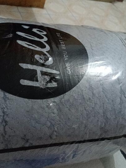 南极人NanJiren 加厚法兰绒四件套 冬季保暖双面珊瑚绒牛奶绒水晶绒菠萝格床上用品 1.5/1.8米床被套床单枕套 晒单图