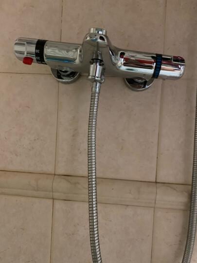 尊驰卫浴恒温淋浴龙头精铜智能浴缸浴室水龙头冷热卫生间混水阀带下出水3062 晒单图