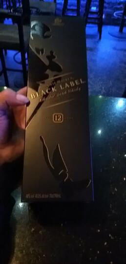 Johnnie Walker尊尼获加黑牌12年调配型苏格兰威士忌700ml*12瓶 带盒整箱装 晒单图