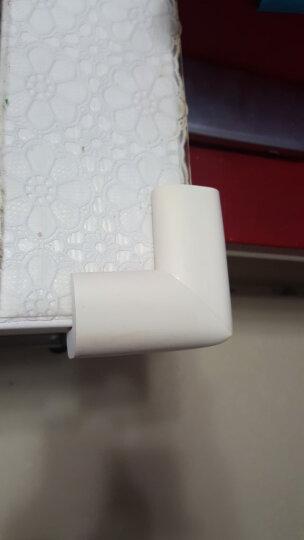 棒棒猪(BabyBBZ) L型防撞角婴儿童安全防护角桌角防碰保护套优质加厚款 米白色8个装 晒单图