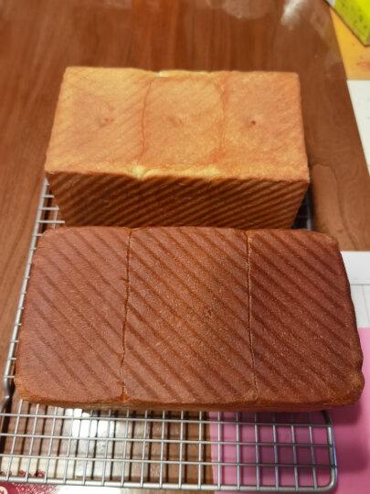 学厨CHEF MADE 吐司模具450g不粘低糖吐司盒节能面包模具波纹滑盖土司盒烘培烤箱用香槟金色WK9054C 晒单图