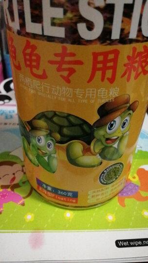 易萌龟粮乌龟饲料活体巴西龟草龟鳄鱼龟鲜虾味饲料上浮型 瓶装360g 晒单图
