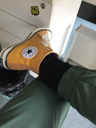 匡威男鞋女鞋2018新款1970S三星标高帮休闲鞋经典复古学生情侣帆布鞋162050C 142334C 40 晒单图