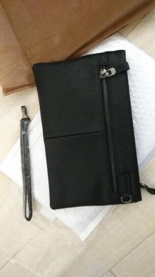 法国COW男士手包 男款多功能长款手拿包商务休闲大容量钱包手腕手抓包 C-8610手包 小号 晒单图
