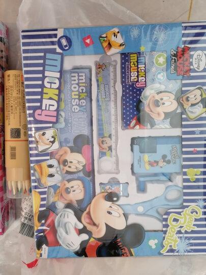迪士尼(Disney)文具套装7件套 小学生文具礼盒 儿童开学文具礼包 生日礼物学习奖品 米妮系列 粉色 DM6049-5B 晒单图