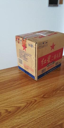 红星 白酒 小绿二锅头 清香型 46度 100ml*24瓶 整箱装 晒单图