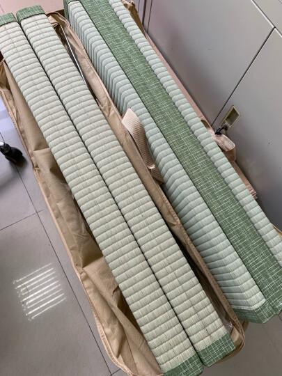 萩原倉敷日式榻榻米地垫床垫卧室客厅草垫折叠地垫蔺草垫定制宽度90CM新款特价! 条纹红 晒单图