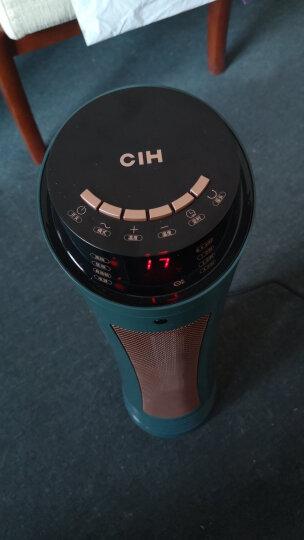CIH取暖器家用暖风机浴室电暖器办公室立式电暖气节能省电 2501时尚尊贵黑 晒单图