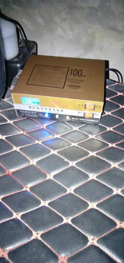 极速送货 微红人 智能汽车电瓶充电器12V24V伏小轿车货车摩托车蓄电池充电机自动脉冲修复纯铜通用型 晒单图