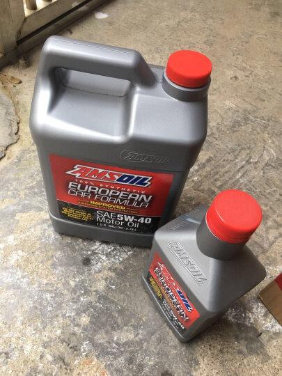 安索(AMSOIL)全合成机油 欧规环保润滑油 5W-40 SN 946ml AFLQT 养车保养 晒单图