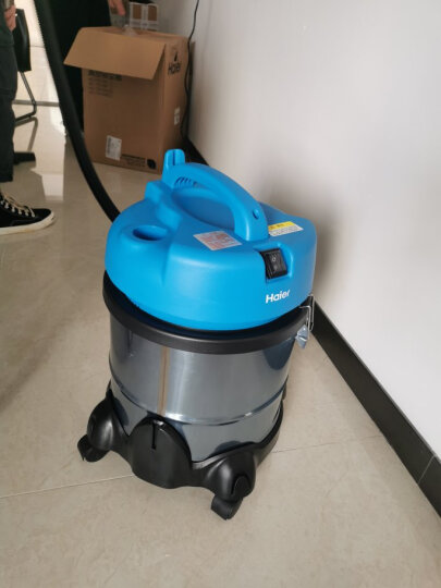 海尔(Haier)吸尘器家用大功率干湿吹三用桶式HC-T3143R2 晒单图
