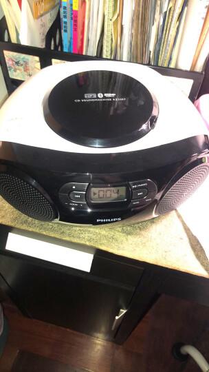 飞利浦(PHILIPS)AZ330T/93 蓝牙音响 CD机 播放机 收录机 学习机 胎教机 教学机 USB播放器 收音机 音箱 晒单图