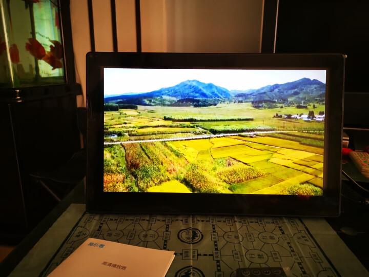 易乐看 ELC1501 15.6英寸宽屏16:9数码相框高清广告机支持1080P高清视频 黑色钢化玻璃+国标壁挂件 晒单图
